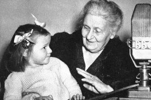 Maria Montessori s djetetom